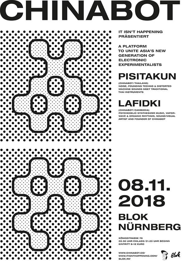 Poster: Chinabot, Blok Bar Nürnberg